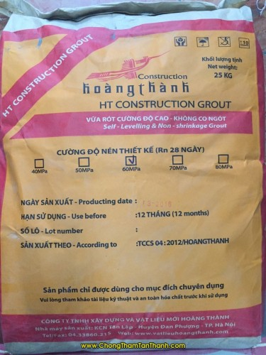 Vữa HT Construction Grout